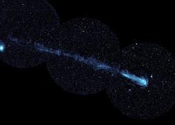 La gran estela de la estrella Mira