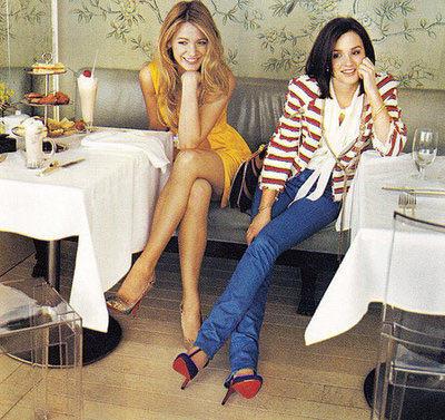 Gossip girl en Vogue