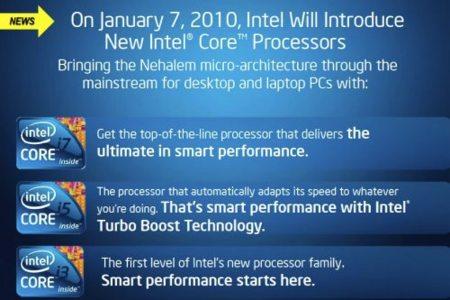 Intel Westemere en 32 nanómetros se van acercando: los tendremos el 7 de enero