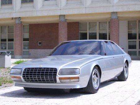 Ferrari Pinin. Pudo ser la primera berlina de Ferrari