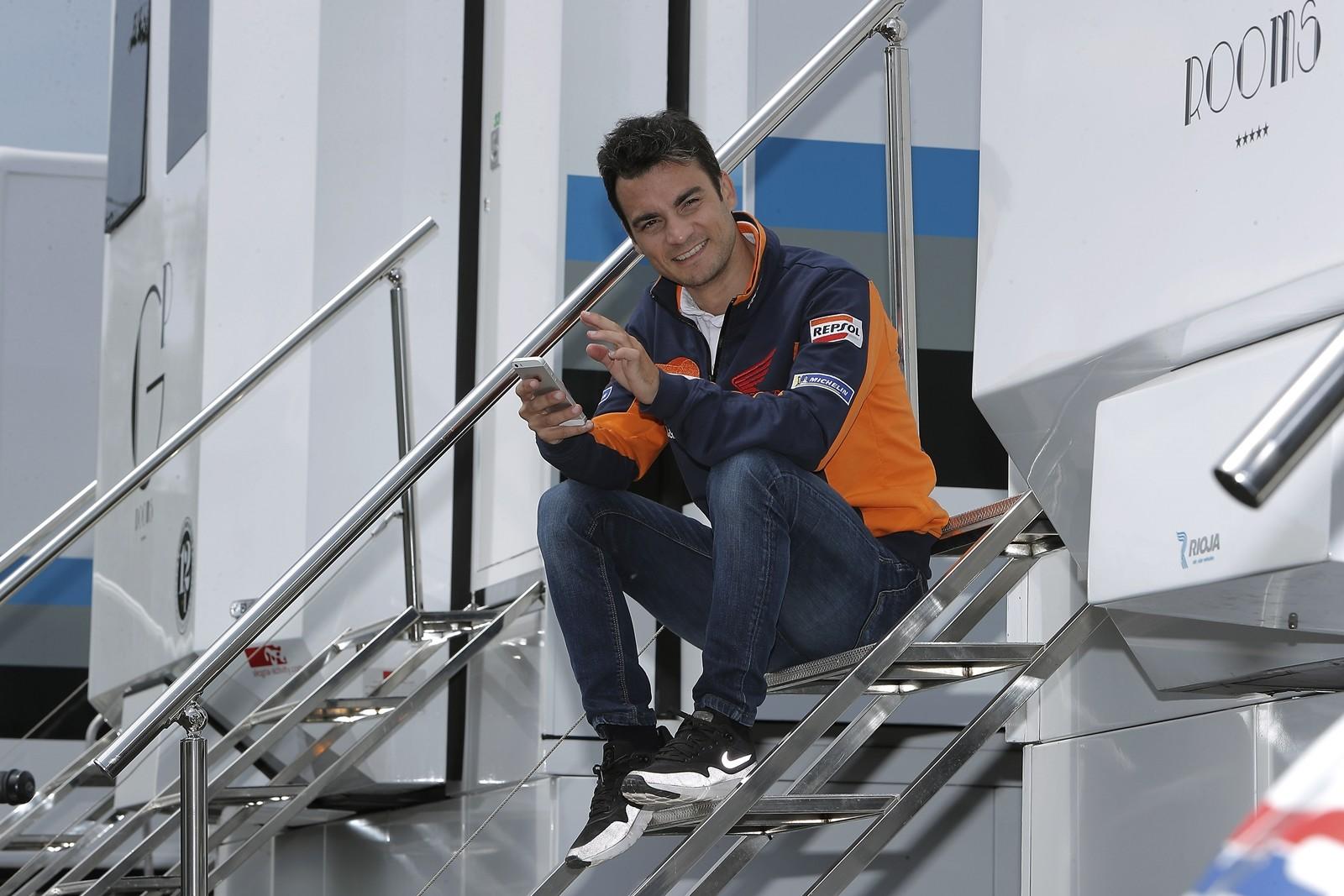 Foto de Dani Pedrosa MotoGP (1/22)