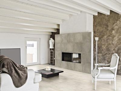 Tablones cerámicos que imitan madera en blanco, la solución que estabas deseando