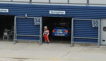 Sébastien Loeb testó el Chevrolet Cruze del WTCC