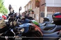 Las motos tardan un 70% menos en hacer un mismo recorrido urbano