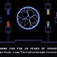 El maravilloso VVVVVV celebra su décimo aniversario regalando su código fuente a todo el que lo desee