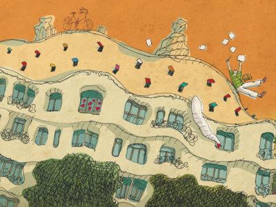Así ve David Pintor la ciudad de Barcelona