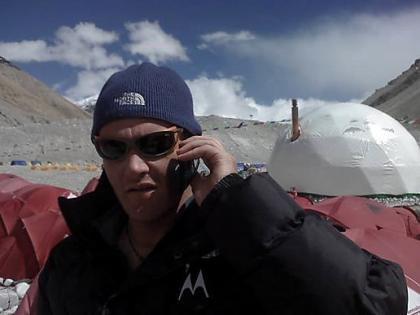 Imagen de la semana: Motorola Z8 en el Everest
