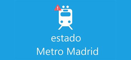 Estado Metro Madrid, App para Windows Phone 8 tan breve como útil