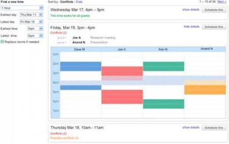 "Google Calendar lanza ""Smart Rescheduler"""