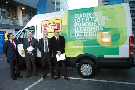 Ya rueda el primer camión eléctrico de España