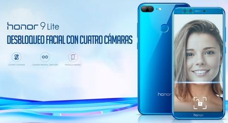 Huawei Honor 9 Lite, con cuatro cámaras, a su precio más bajo en Amazon: 149 euros