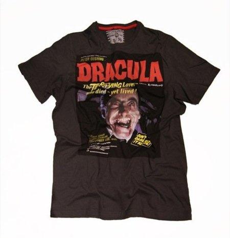 Camisetas de Bershka para chicos a los que les guste el cine de terror