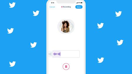 Twitter estrena los tweets de voz en la app para iOS: ya puedes expresarte con audios de 140 segundos