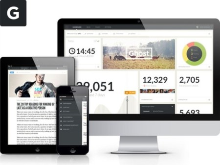 Ghost: aún hay sitio para nuevas plataformas de blogging