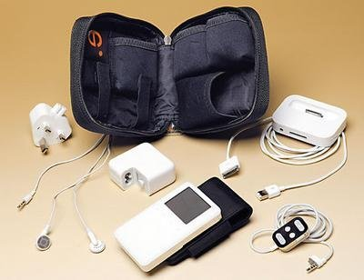 Funda de viaje Be-Ez para tu iPod