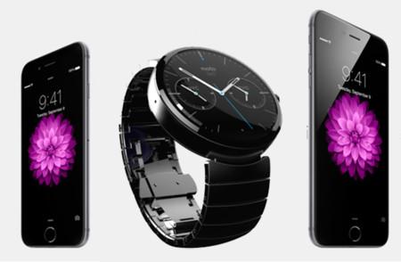 Iphone Moto 360