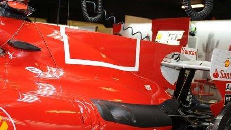 GP de España 2010: Ferrari elimina el código de barras de su decoración