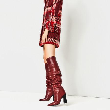Isabel Marant Clon Botas Rojas Pre Fall 2016 Zara 2