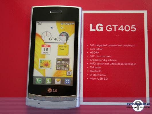 Los nuevos 5 móviles de LG presentados en Marzo de 2010