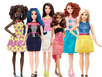 Barbie estrena 3 cuerpos nuevos: curvy, tall y petite