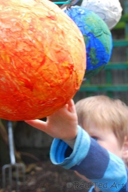 Manualidades Universo Espacio Exterior Planetas Sistema Solar 6