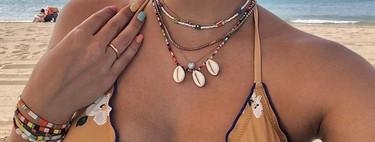 14 collares, pulseras y pendientes multicolor para sumarse a la tendencia en bisutería más boho-chic del verano