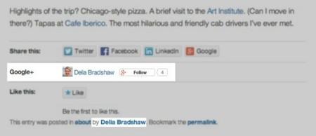 Google+ ahora se integra más con WordPress.com