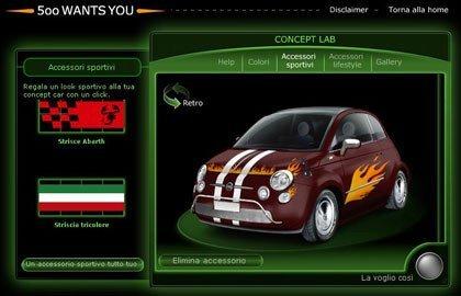 Diseña tu propio Fiat 500