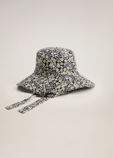 Bucket Hat Estampado Rejas 02