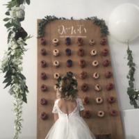 Decoración con donuts: la última locura para bodas que hemos visto en Instagram
