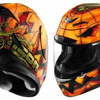 ¿Buscas algo especial para Halloween? Mira el Icon Airmada Trick or Street, un casco de miedo