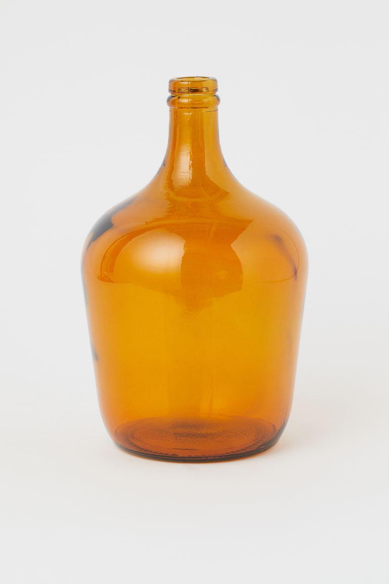 Jarrón botella de vidrio 24,99 €