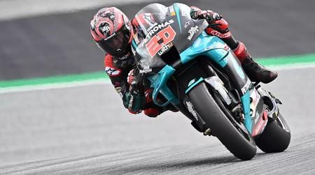 Fabio Quartararo comanda el duelo entre Yamaha y KTM en los primeros entrenamientos de Misano