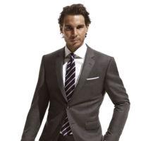 Rafael Nadal combina traje y raqueta en la nueva colección THFLEX de Tommy Hilfiger