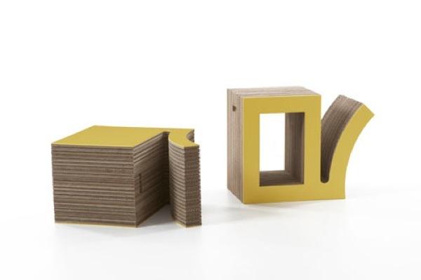 Foto de Interesante colección de muebles de cartón de Kubedesign (1/6)