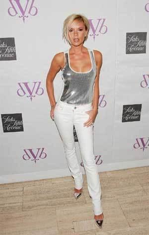 Victoria Beckham presenta DVB