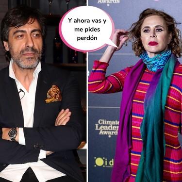 """Juan del Val responde a las disculpas falsas de Ágatha Ruiz de la Prada y parece saber cuál es su objetivo: """"No lo va a conseguir"""""""