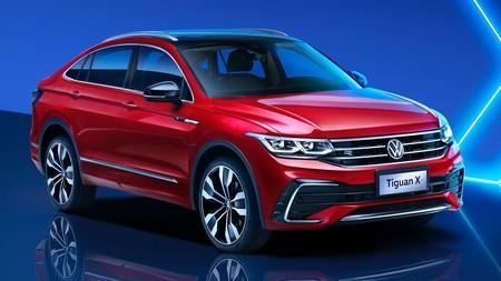 Volkswagen Tiguan X: el SUV superventas alemán ya tiene su versión coupé, aunque de momento solo para China