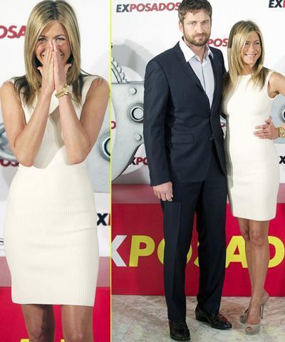 Los looks de Jennifer Aniston en Madrid
