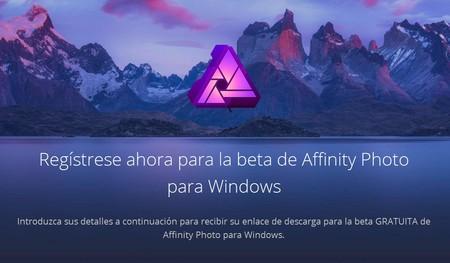 Affinity, el potente editor de fotos para Mac, disponible gratis en Windows