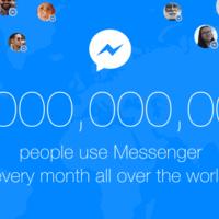 Facebook Messenger ya tiene mil millones de usuarios activos