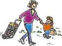 Salir de compras con los pequeños