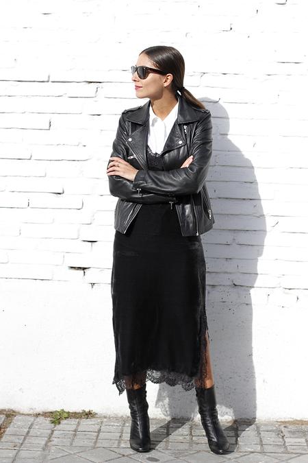 Vestido Lencero Negro 1