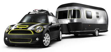 El Mini Cooper S Clubman también tiene su caravana Airstream