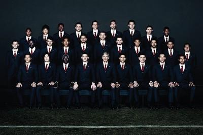 Los jugadores del Arsenal visten de Lanvin (de manera oficial)