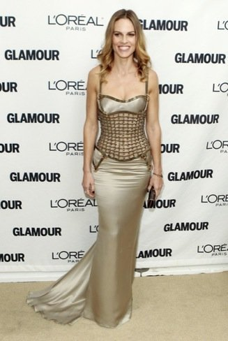 Premios Glamour de 2010: Hilary Swank