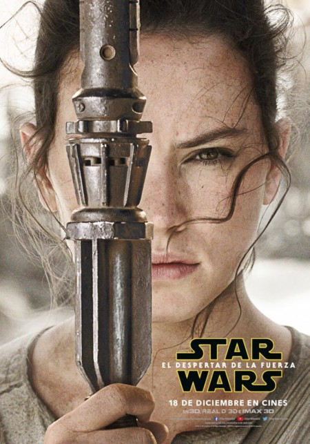 Star Wars 7 El Despertar De La Fuerza Imagenes Nuevos Carteles De Los Protagonistas 1 Rey