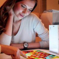 Lazertouch, un proyector con Android que promete transformar cualquier superficie en táctil