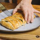 Hojaldre con espinacas o cómo dar el protagonismo a esta saludable verdura