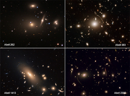 """Un estudio sugiere que la materia oscura es más """"difusa"""" que """"fría"""""""
